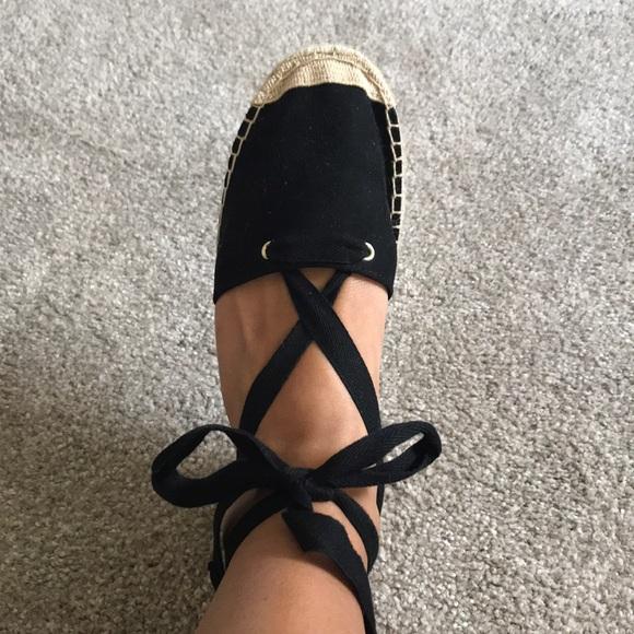 H\u0026M Shoes | Hm Black Espadrille Sandals